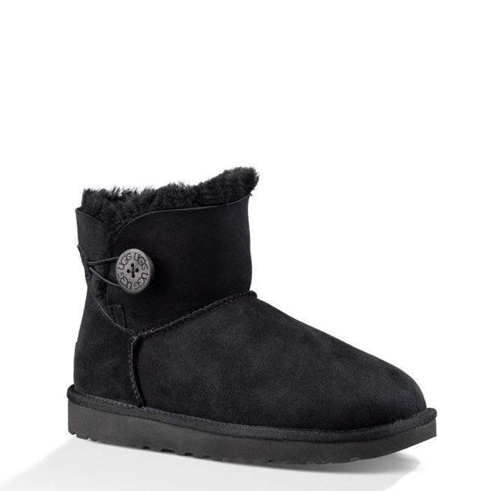 UGG // W MINI BAILEY BUTTON II / BLAC - ::