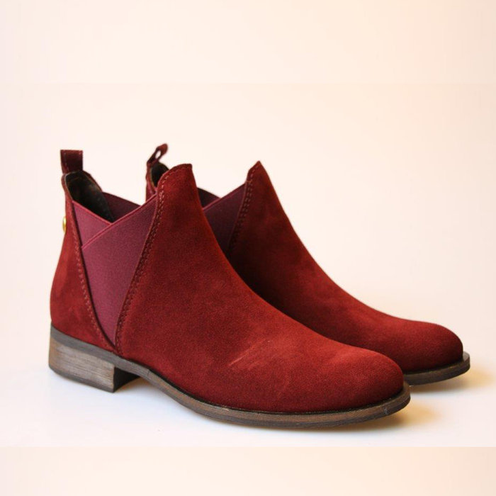 HUPA SHOES // MELANI / BORDO - ::