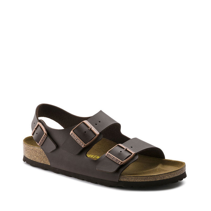 BIRKENSTOCK // MILANO / DARK BROWN - ::