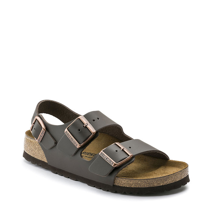 BIRKENSTOCK // MILANO / DARK BROWN S - ::