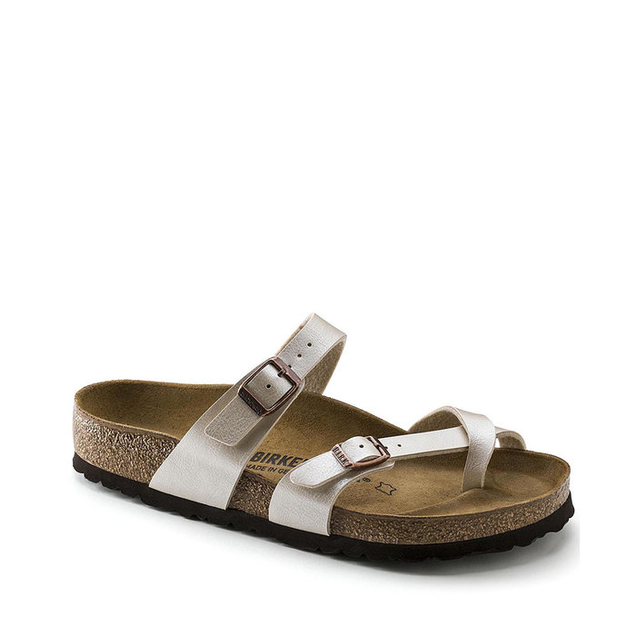 BIRKENSTOCK // MAYARI / GRACEFUL PEARL WHITE - ::