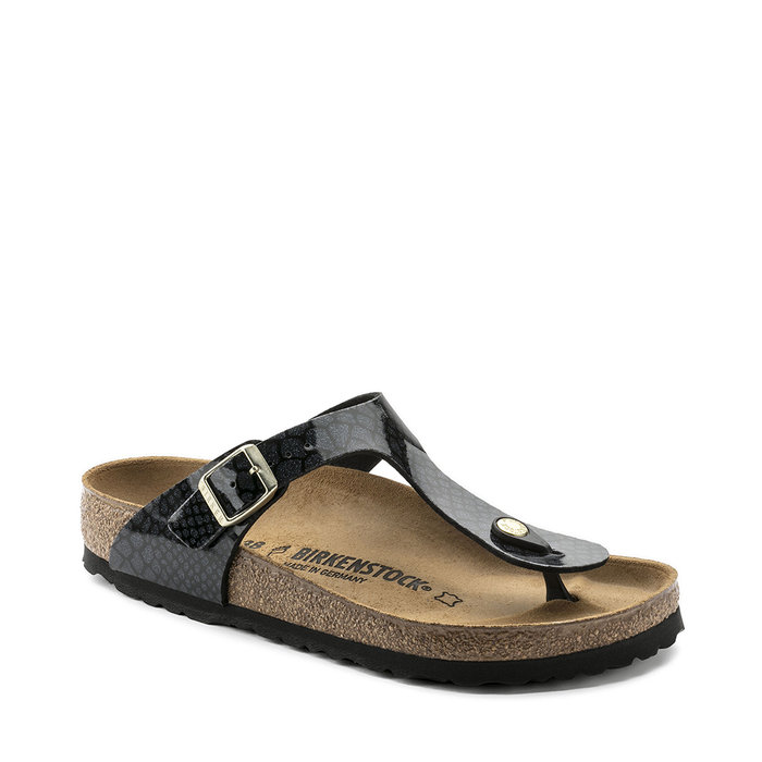 BIRKENSTOCK // GIZEH / MAGIC SNAKE BLACK - ::