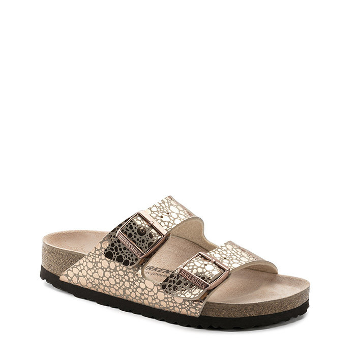 BIRKENSTOCK // ARIZONA / METALLIC STONE COPPE - ::