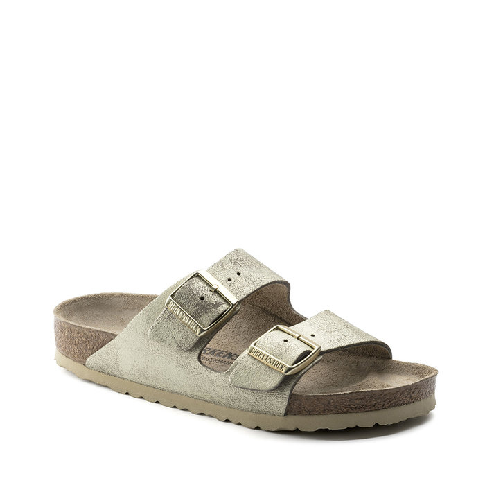 BIRKENSTOCK // ARIZONA / WASHED METALLIC C GO - ::