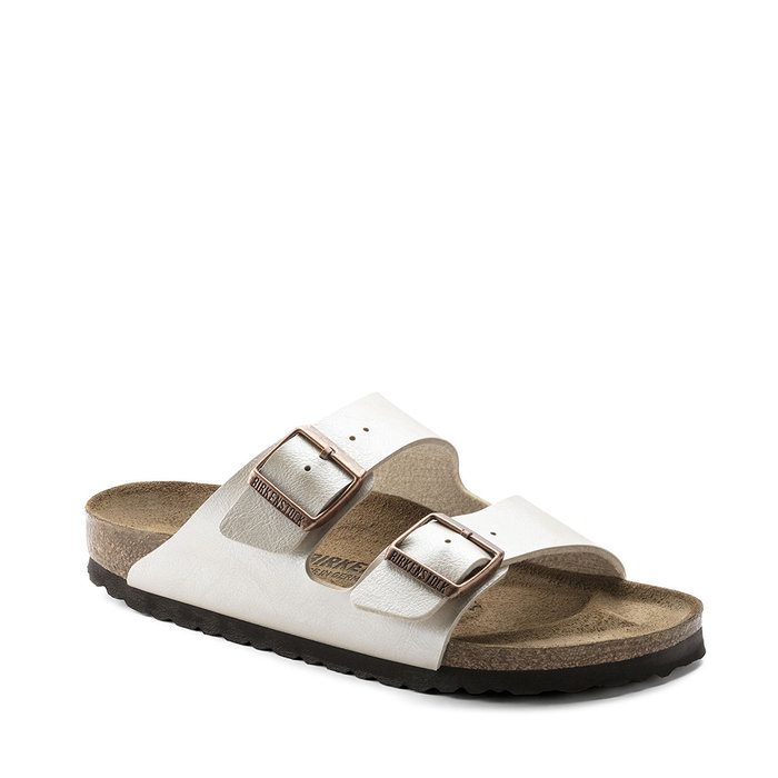BIRKENSTOCK // ARIZONA / GRACEFUL PEARL WHITE - ::