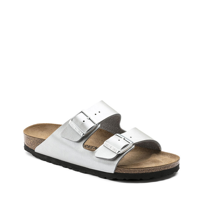 BIRKENSTOCK // ARIZONA / GRACEFUL SILVER - ::