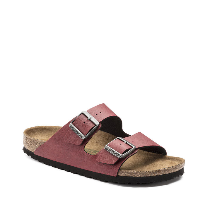 BIRKENSTOCK // ARIZONA / PULL UP BORDEAUX VEG - ::