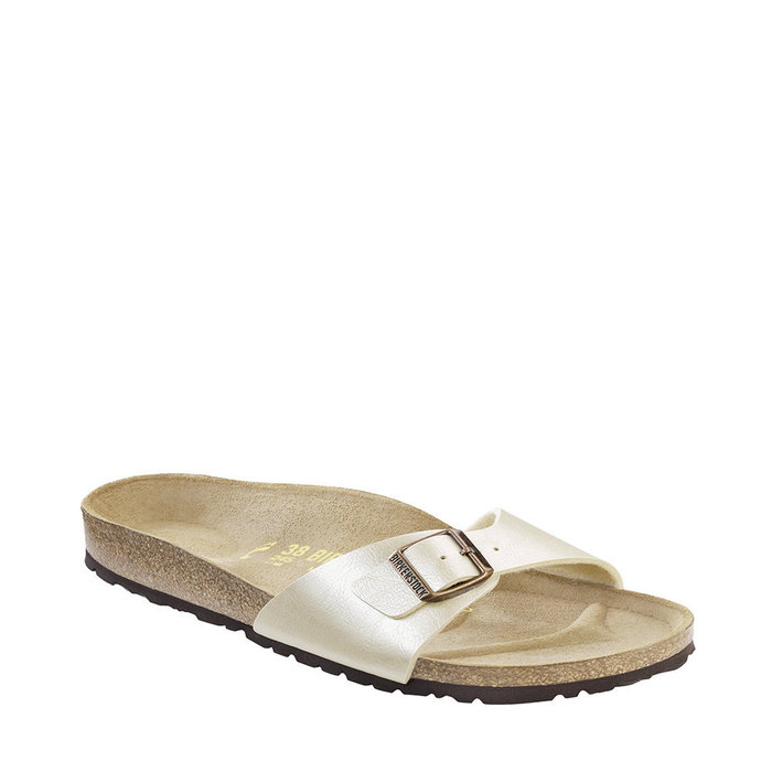 BIRKENSTOCK // MADRID / GRACEFUL PEARL WHITE - ::
