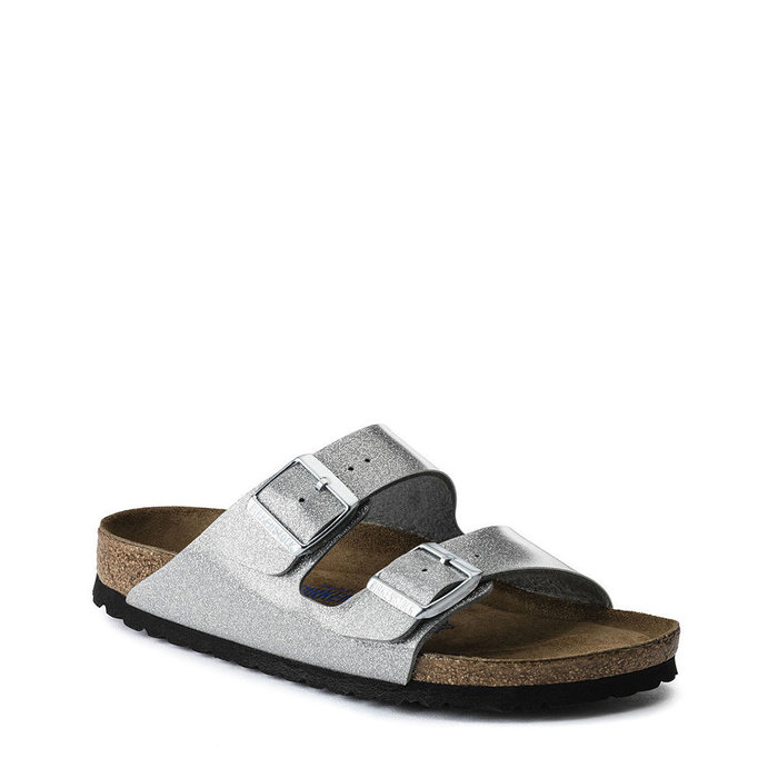 BIRKENSTOCK // ARIZONA SFB / MAGIC GALAXY SILVER - ::