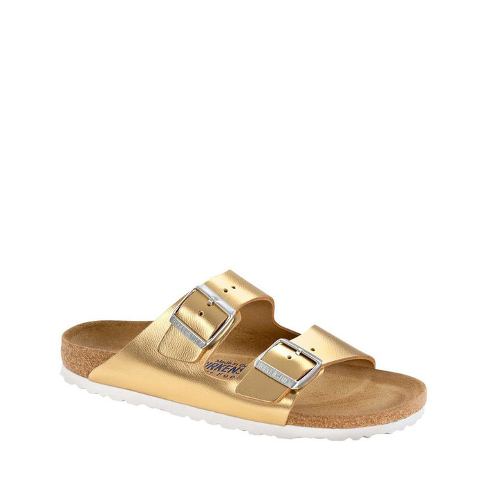 BIRKENSTOCK // ARIZONA / METALLIC GOLD - ::