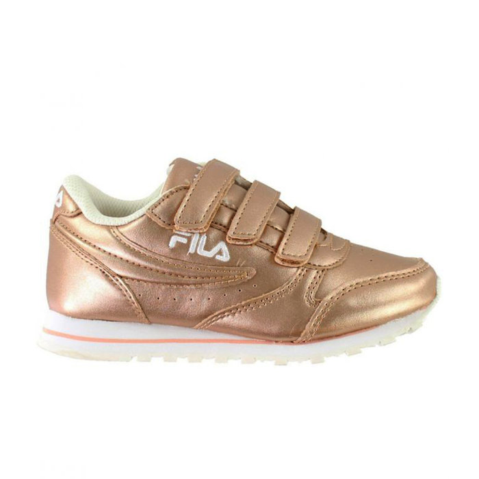 FILA // ORBIT VELCRO LOW JR / ROSE GOL - ::