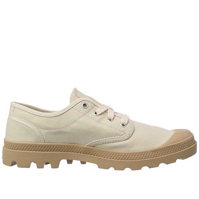 PALLADIUM // PAMPA OXFORD / IVORY+PUTTY - ::