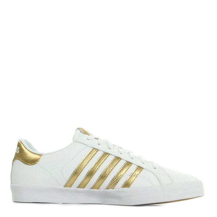 K-SWISS // BELMONT SO / WHITE+GOLD - ::