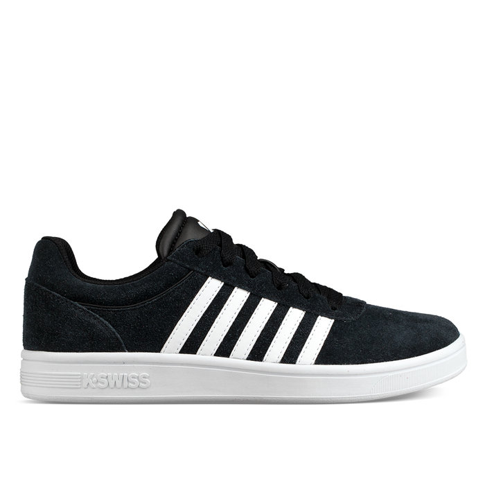 K-SWISS // COURT CHESWICK SDE / BLACK+WHI - ::