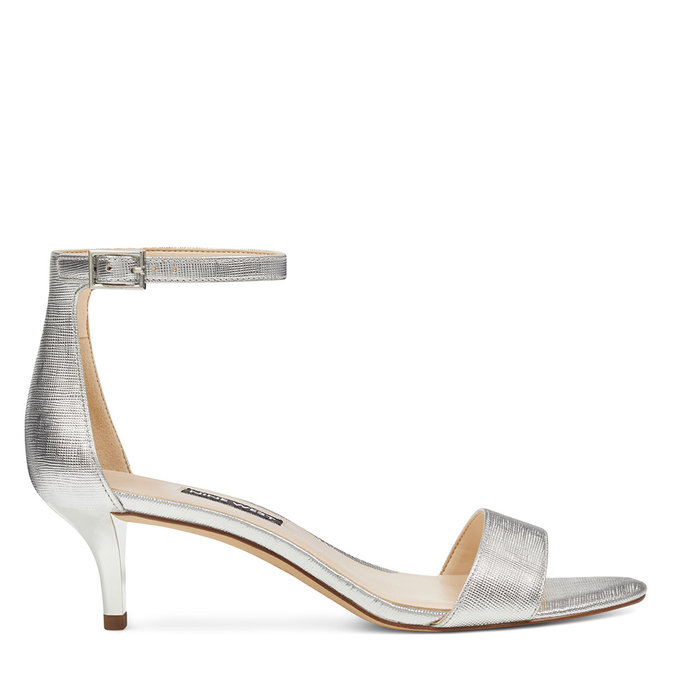NINE WEST // LEISA 3 / SILVER - ::