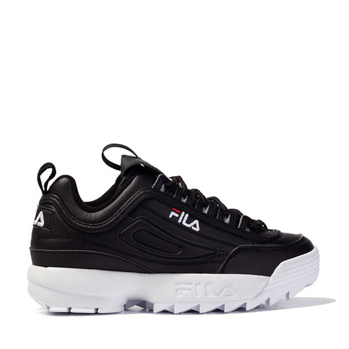 FILA // DISRUPTOR LOW WMN / BLACK - ::