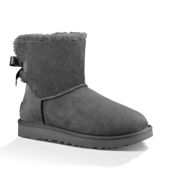 UGG // W MINI BAILEY BOW II / GREY - ::