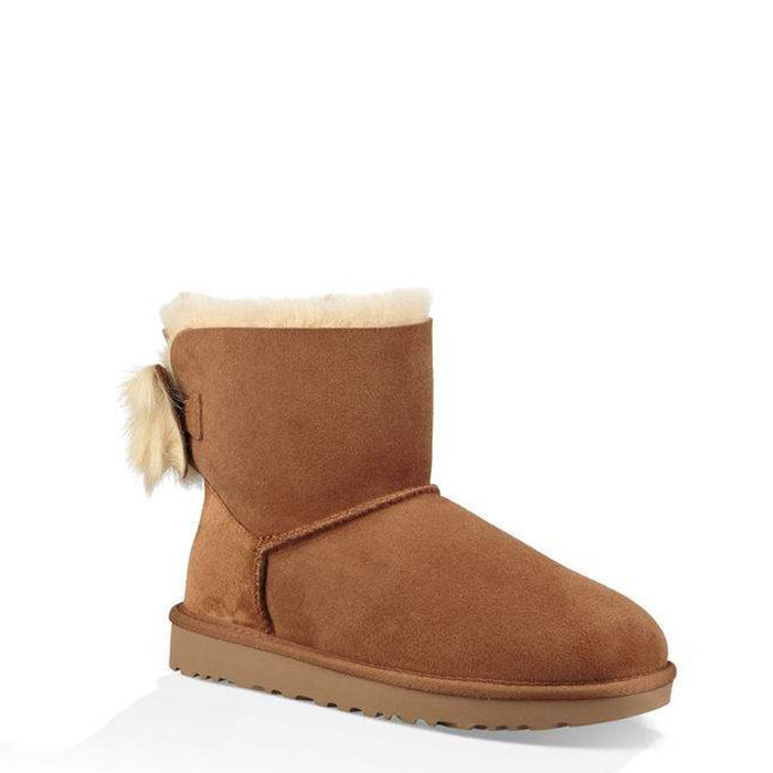 UGG // MINI BAILEY BOW II / CHESTNUT - ::