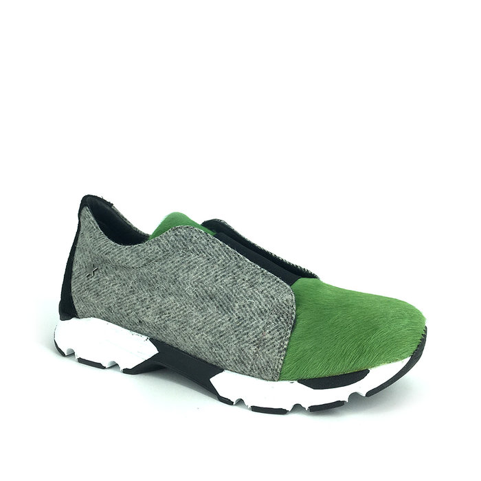 CUBANAS // RUN200B / GREEN+GREY - ::