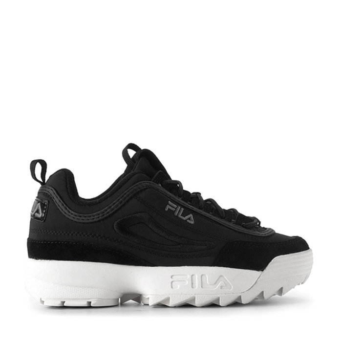 FILA // DISRUPTOR S. LOW WMN / BLACK - ::