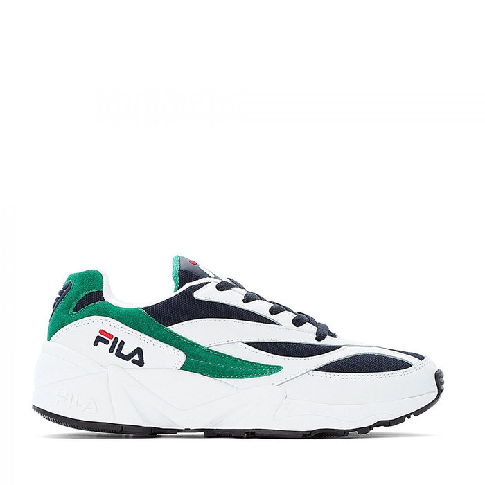 FILA // VENOM LOW WMN - WHITE / FILA NAVY / SHADY GLADE - ::