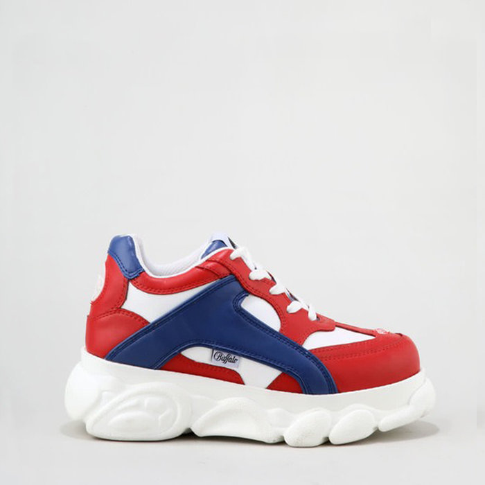 BUFFALO LONDON // COLBY / RED+BLUE+WHITE - ::