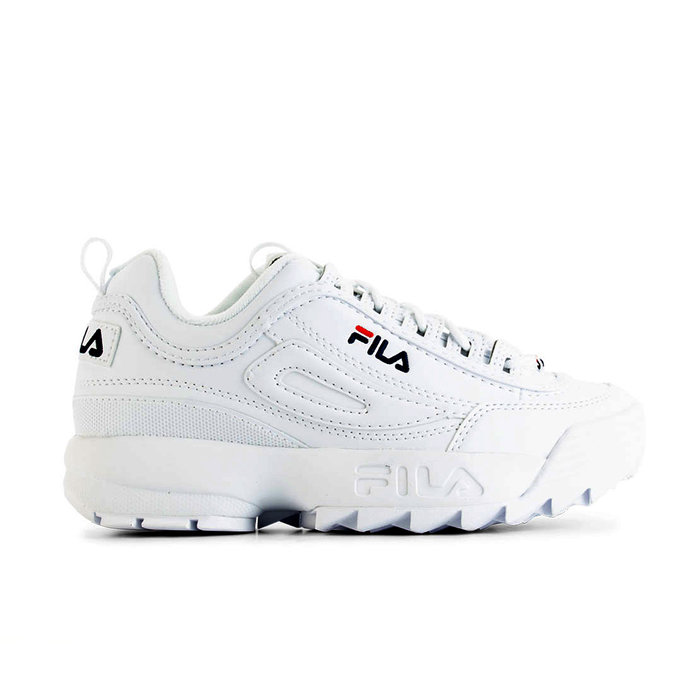 FILA // DISRUPTOR LOW WMN / BRIGHT WHI - ::