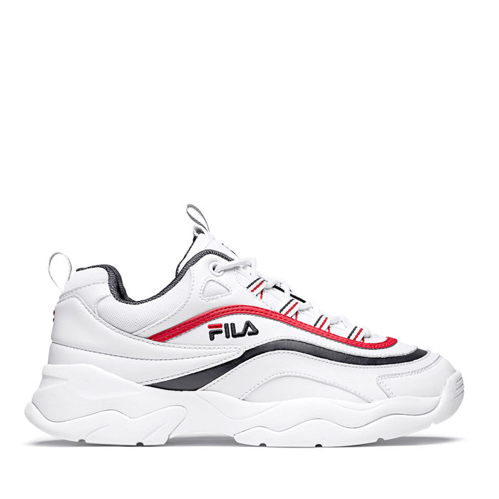 FILA // RAY LOW / WHITE+NAVY+RED - ::