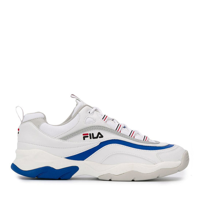 FILA // RAY F L / WHITE+ELECTRIC BLUE - ::