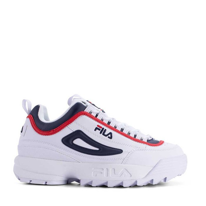 FILA // DISRUPTOR CB LOW / WHITE+NAVY+ - ::