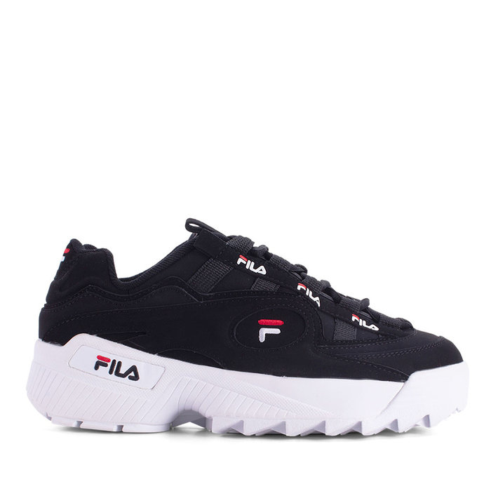 FILA // D-FORMATION / BLK+WHT+RED - ::