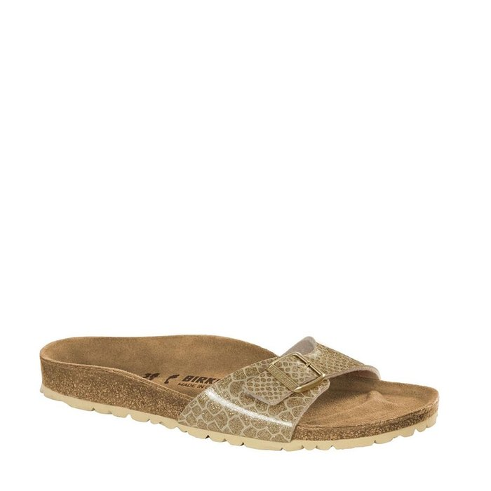 BIRKENSTOCK // MADRID / MAGIC SNAKE GOLD - ::