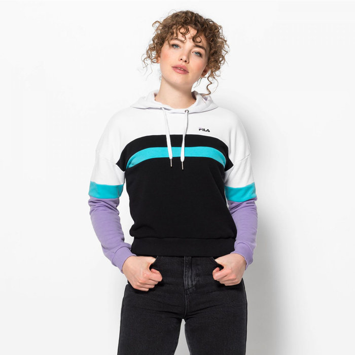 FILA // ELLA / WHITE+BLACK+VIOLET+BLUE - ::