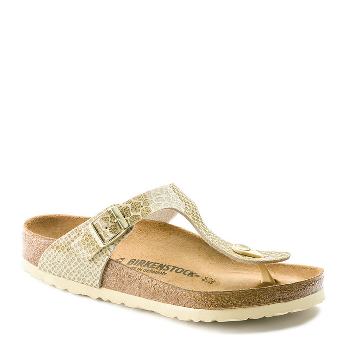 BIRKENSTOCK // GIZEH / MAGIC SNAKE GOLD - ::