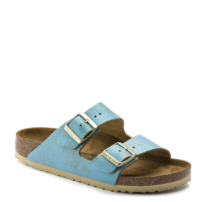 BIRKENSTOCK // ARIZONA / WASHED M. AQUA - ::