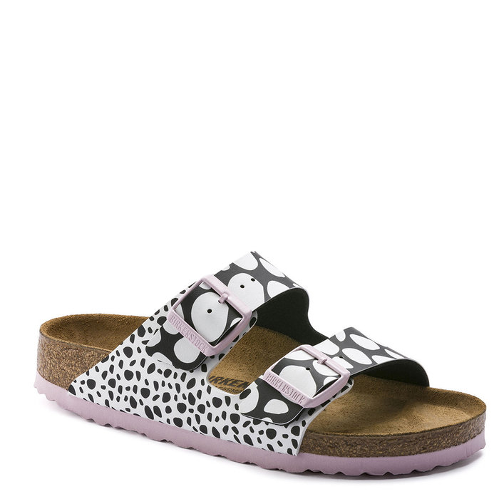 BIRKENSTOCK // ARIZONA / TWO TONE D. BLK WHI - ::
