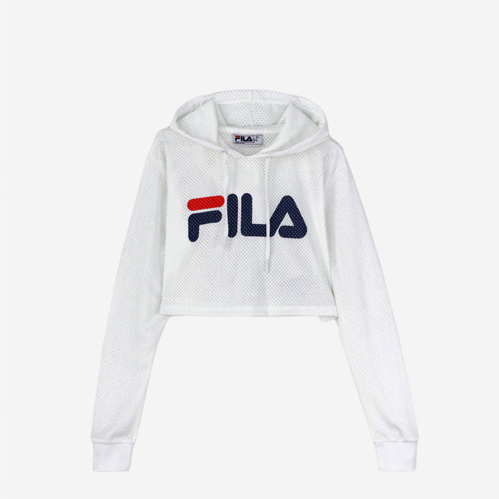 FILA // NOEMI CROP / WHITE - ::