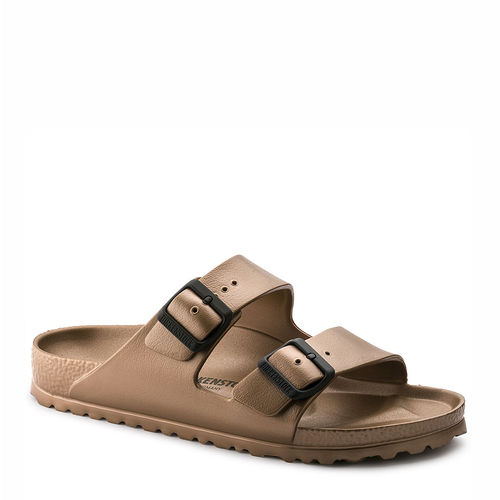 BIRKENSTOCK // ARIZONA EVA / METALLIC COPPER - ::
