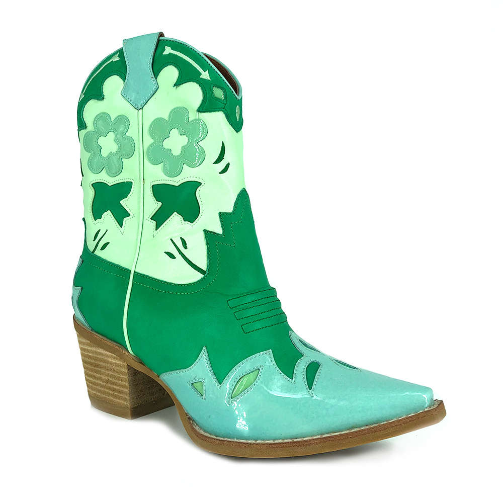 JEFFREY CAMPBELL LOONEY MINT GREEN ::