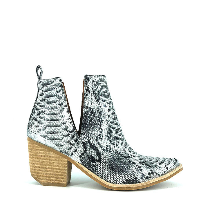 JEFFREY CAMPBELL // CROMWELL / BLACK+WHITE - ::