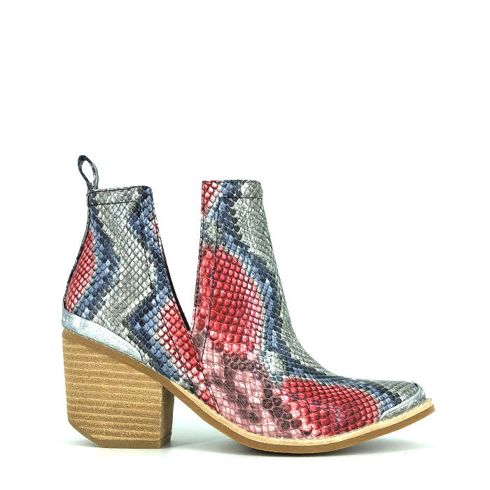 JEFFREY CAMPBELL // CROMWELL / RED+BLUE - ::