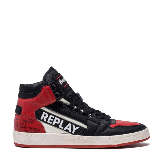 REPLAY // HURDLE / WHITE BLACK RED - ::