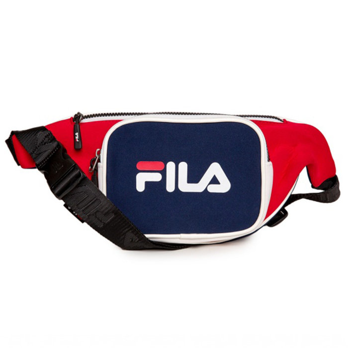 FILA // WAIST BAG SCUBA / BLK RED WHI - ::