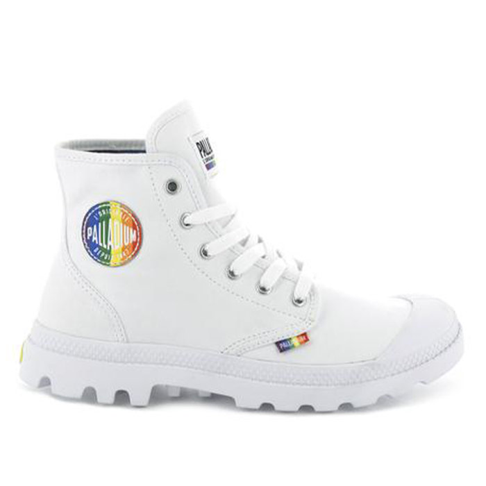 PALLADIUM // PAMPA PRIDE / WHITE+RAINBOW - ::