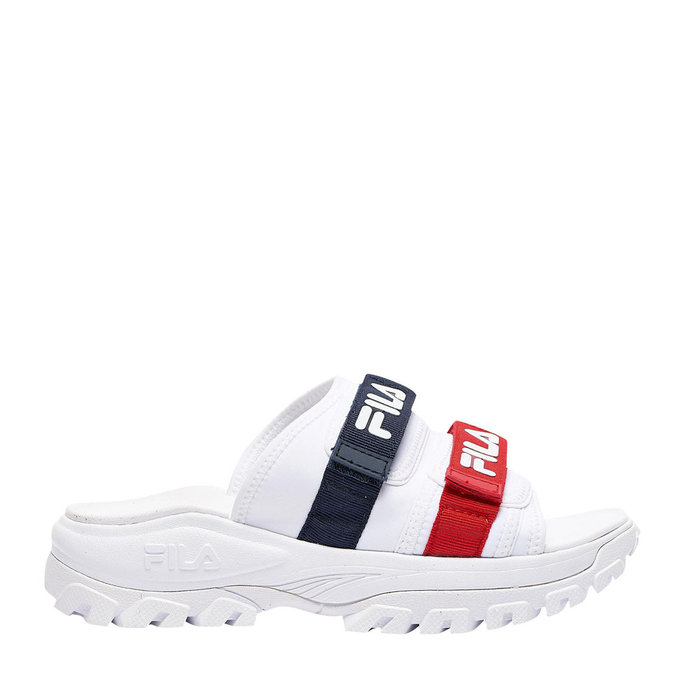 FILA // OUTDOOR SLIDE / NAVY+RED+WHITE - ::