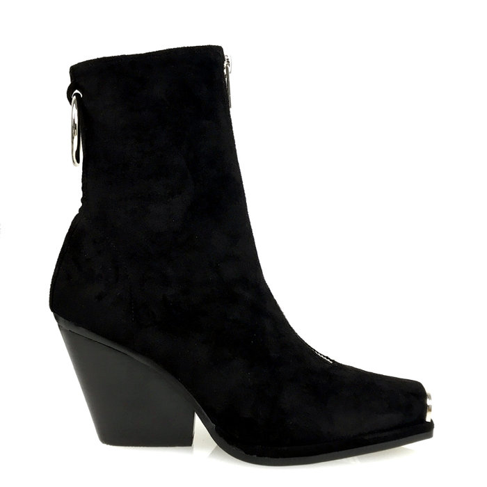 JEFFREY CAMPBELL // WELTON-MTZ / BLACK - ::